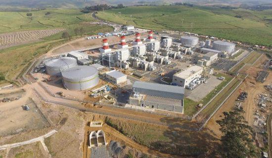 685 MWe  Avon Power Plant - Durban  <BR/>(2016)